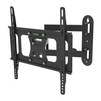 VM-LT09S Tilting Wall Mounted Shelf Brackets For VESA 400X400