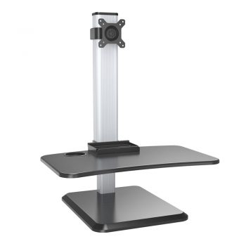 VM-WS17 Dual Monitor Height Adjustable Standing Desk Workstation Desk Mount