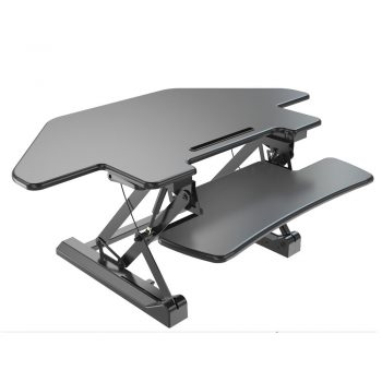 Triangle Surface Sit And Stand Desk VM-LD07T